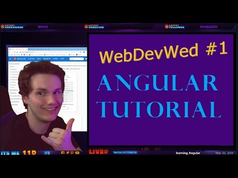 Angular Tutorial - Tour of Heroes | @ItsMe11D 🆔 thumbnail