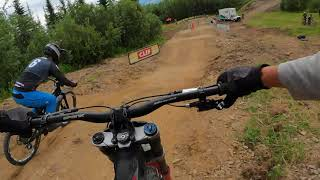 Kicking Horse Dual Slalom - Stan's No Tubes course preview
