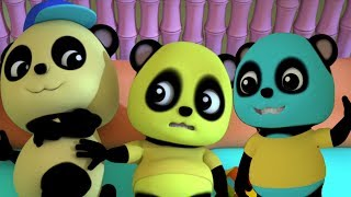 Zehn im Bett | Buntes Pandas Lied | Nummern 1 bis 10 für Kinder | Baby Bao Panda | Ten In The Bed