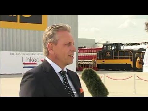 Clip Logistics wizyta Pary Królewskiej Holandii w Swarzędzu, relacja TV Swarzędz