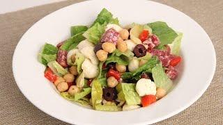 Antipasto Chopped Salad Recipe - Laura Vitale - Laura In The Kitchen Episode 866