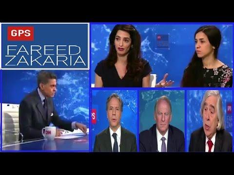 GPS Fareed Zakaria WHITE HOUSE,China ,Merkel ,Energy Challenges Global Warming ,ISIS CIA Maps