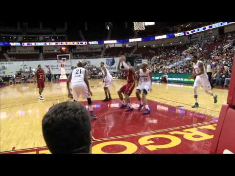 Highlights: Fort Wayne Mad Ants at Iowa Energy, December 27, 2014