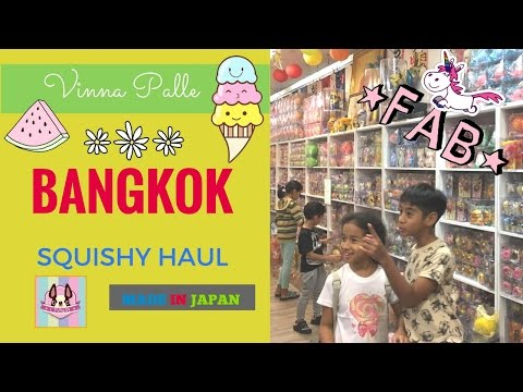 Bangkok Squishy Haul | Chawa Sampeng & Made In Japan
