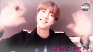 BTS Jin || You're my sweetie pie !