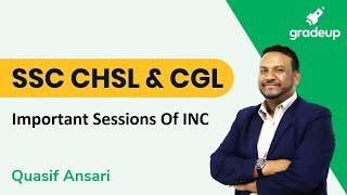 SSC CHSL And CGL | Important Sessions Of Indian National Congress