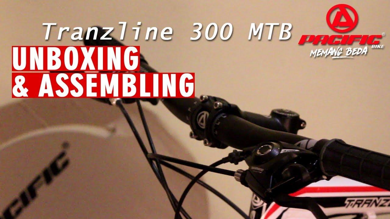 Unboxing Assembling Pacific Tranzline 300 Mtb