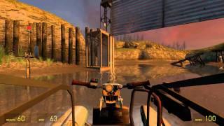 Half-Life 2 Walkthrough: Chapter 4 - Water Hazard {Part 4} [Hard Mode] (1080p)