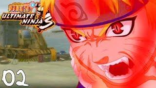 NINE TAILS FOX NARUTO! | Naruto: Ultimate Ninja 3 - Walkthrough Part 2, Gameplay PS2