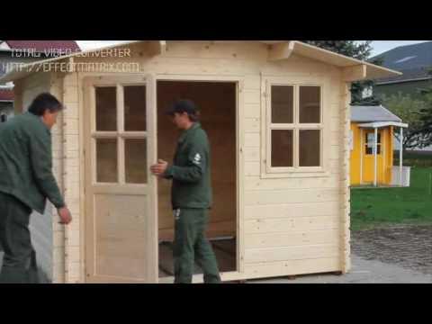 Tutorial montaggio casette legno youtube for Bricoman casette in legno