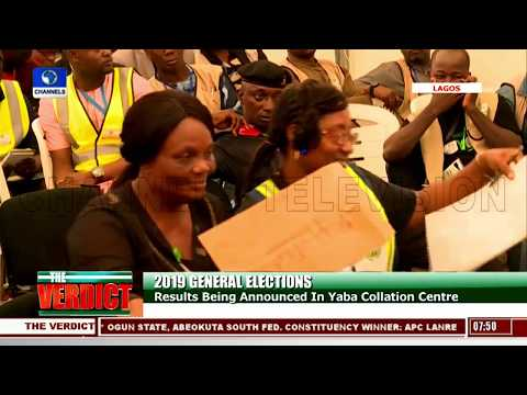 Results Announced At Lagos Collation Centre Pt.2 |The Verdict|