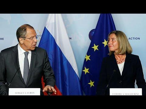 Poursuite des efforts entre l'UE et la Russie