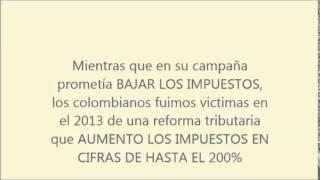 Juan Manuel Santos Destrucción de Colombia nuevo orden mundial