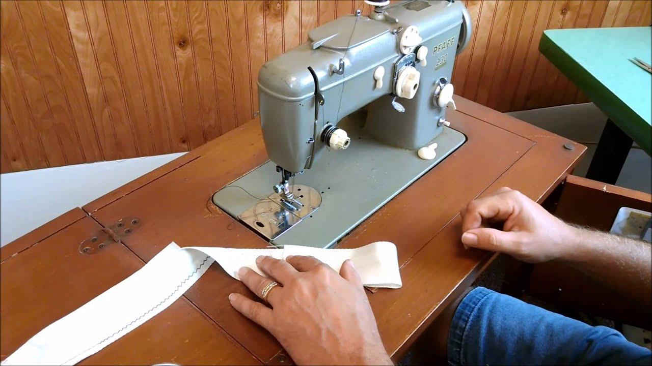 Pfaff 230 Sewing Machine and Cabinet - YouTube