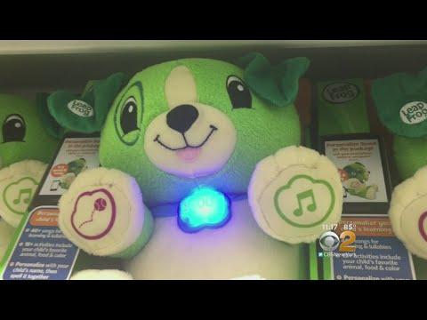 High-Tech 'Smart Toys' Could Put Your Privacy At Risk, Experts Say