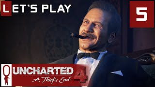 Uncharted 4 - Part 5 - Once a Thief... (Heist) - Let