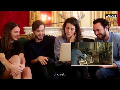 George, Elisa, Anna and Alex watch S2 of Versailles