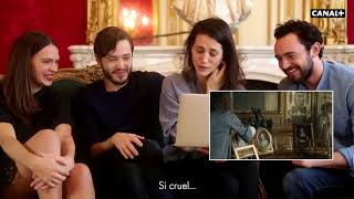 George, Elisa, Anna and Alex watch S2 of Versailles