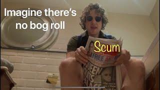 Coronavirus parody. Imagine (there's no bog roll)