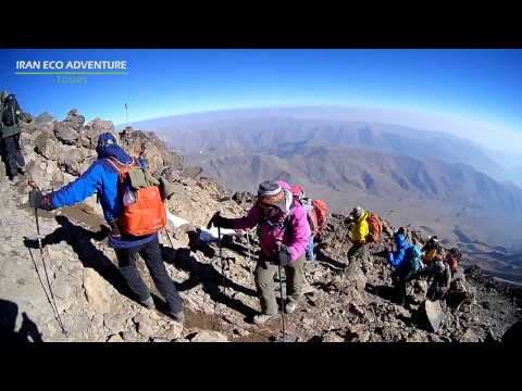Climbing Damavand & Alamkuh (Iran Eco Adventure Tours,Bergfreunde)