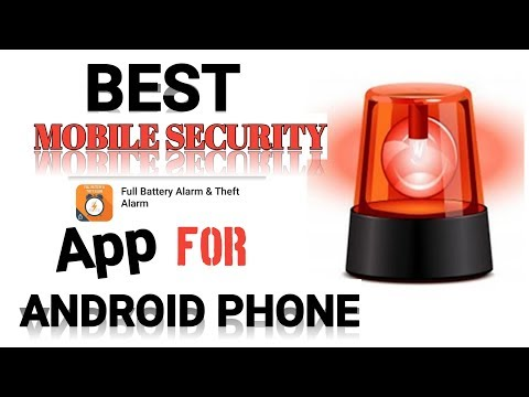 Best Mobile Security App For Android | Full Battery Alarm And Thief Alarm | Rm Ki Duniya