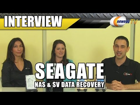 Seagate NAS & SV Data Recovery Interview - Newegg TV