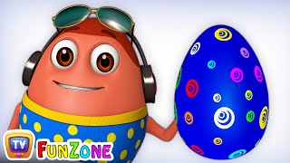 Download Learn BLUE Colour with Johny Johny Yes Papa   Surprise Eggs Colours Ball Pit Show   ChuChuTV 3D Fun Mp3 and Videos