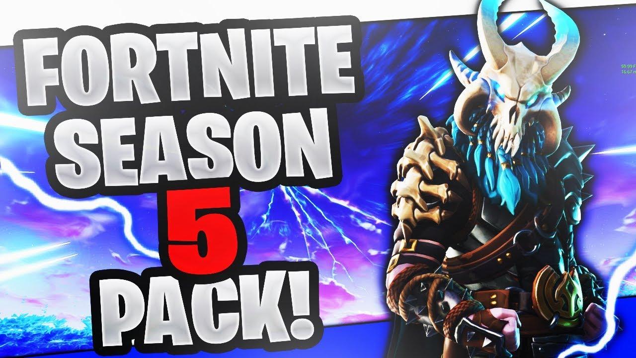 Fortnite Season 5 Thumbnail Template Youtube