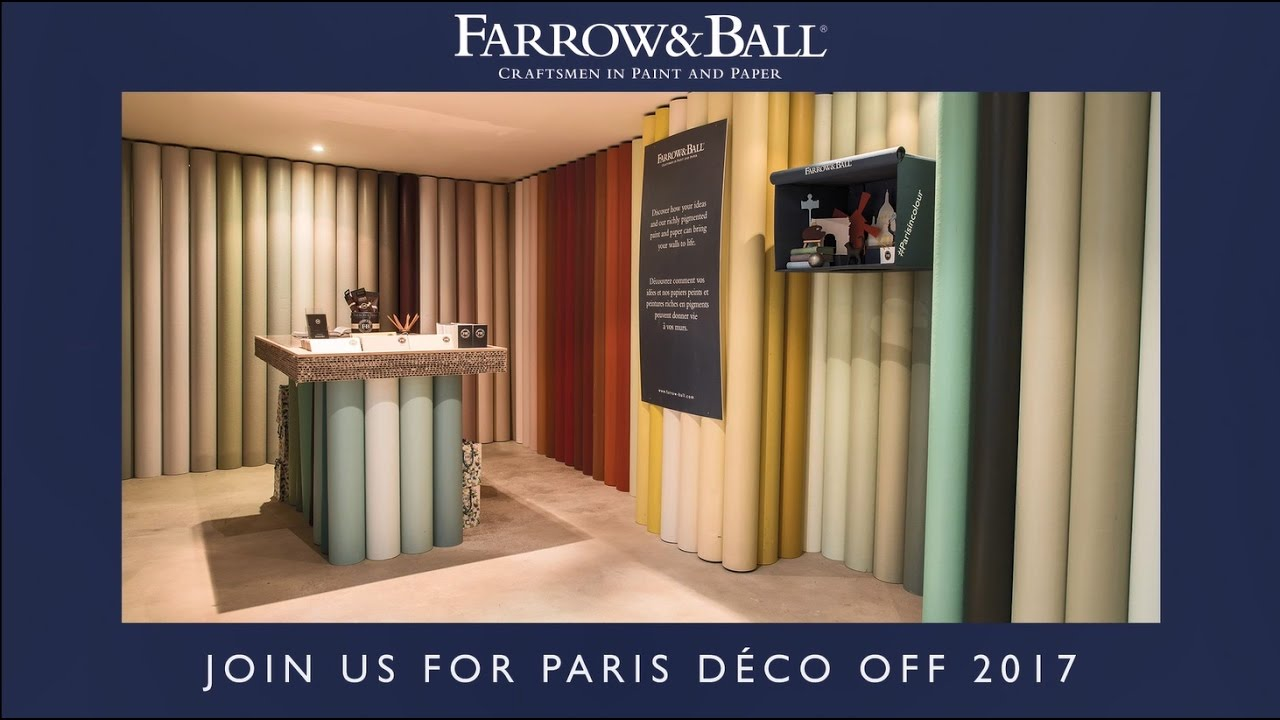 Farrow And Ball Bordeaux f&b at paris déco off 2017