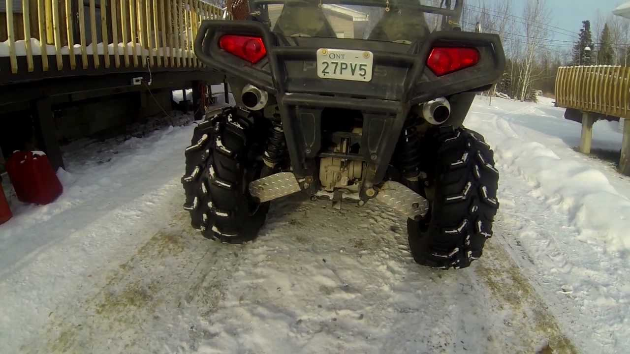 3 Inch Lift Kit >> RZR 800 27 inch tires, racer tech lift kit, looney tuned dual exhaust - YouTube