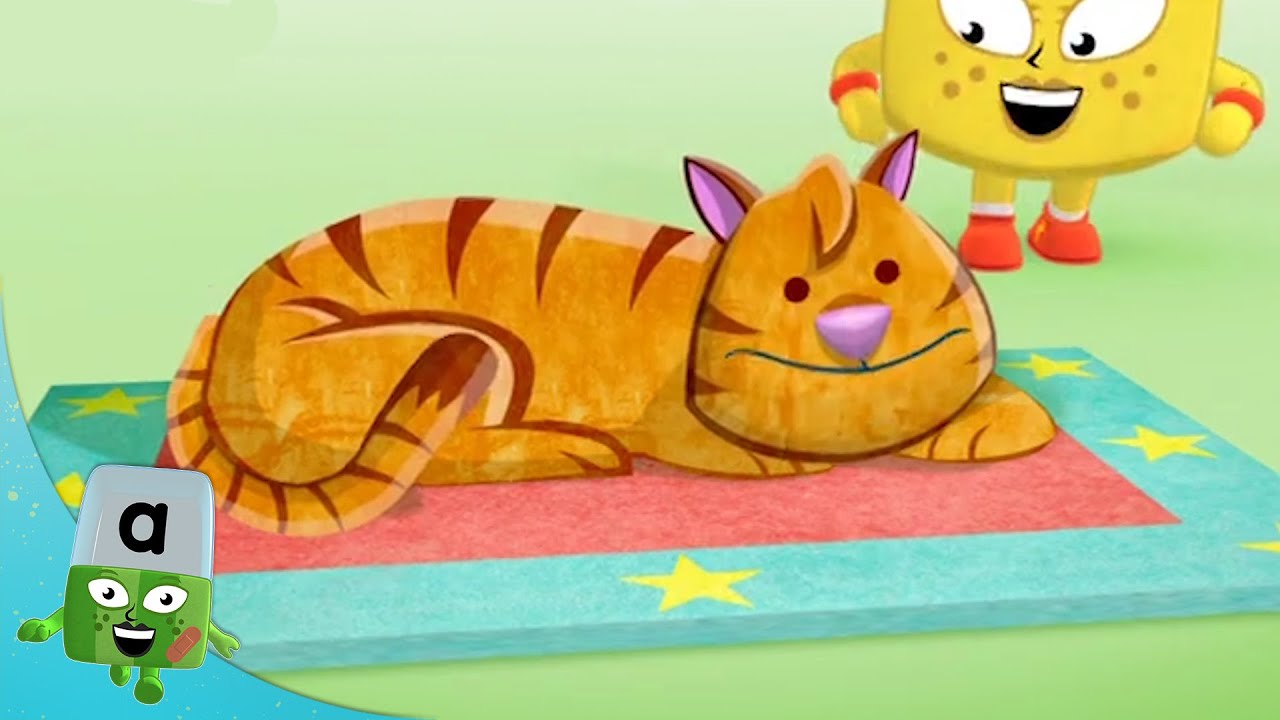 @Alphablocks - The Cat Sat on The Mat! 🎶   Learn to Read   Learning Blocks