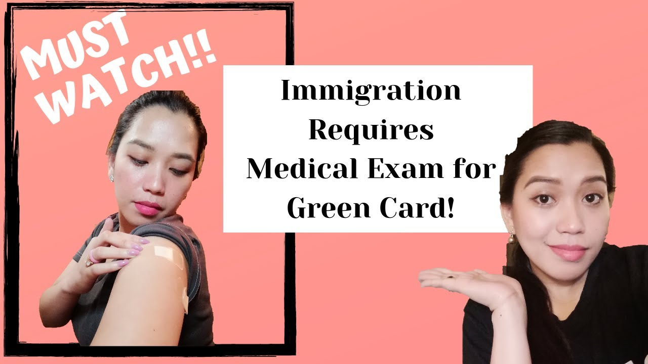 GREEN CARD APPLICATION 2019 || MEDICAL EXAM REQUIRED!! - YouTube
