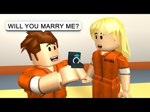 GETTING MARRIED IN PRISON! - Roblox Jailbreak Roleplay