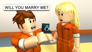 getting married in prison roblox jailbreak roleplay