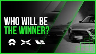 NIO vs XPENG vs LI Auto - who will be the winner in china?