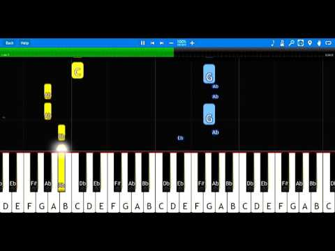 Marble Machine Piano Tutorial How To Play Winterg