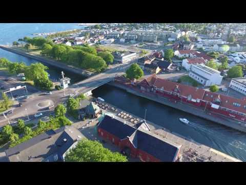 DJI Phantom 4 - Moss Norway in 4K