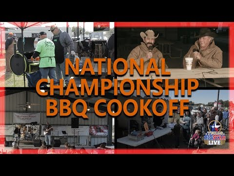 National Championship BBQ Cookoff in Meridian, TX!