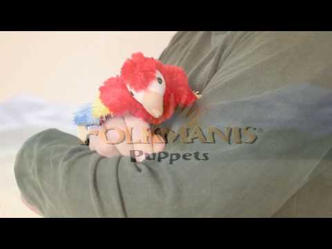 Folkmanis Fingerpuppe mini Hase im Hut 2709
