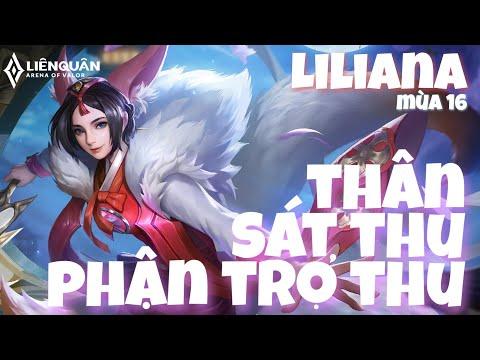Top 1 Liliana | Thân Sát Thủ Nhưng Phận Trợ Thủ Câu Chuyện Không Của Riêng Ai | Liên Quân Mobile