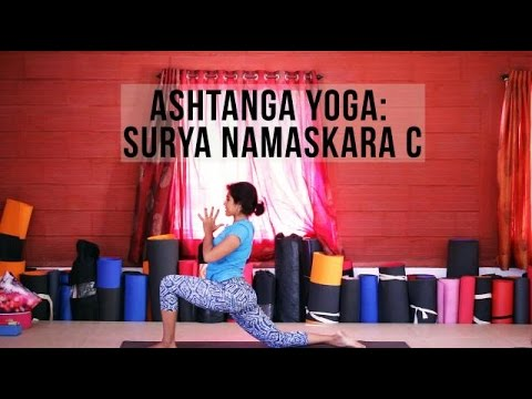 Ashtanga Yoga: How To Do Surya Namaskara C (Sun Salutation C)