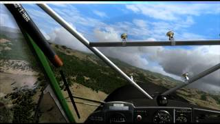 FSX - Windy Approach 98TE Hilltop Airstrip OrbX-MCA Designs