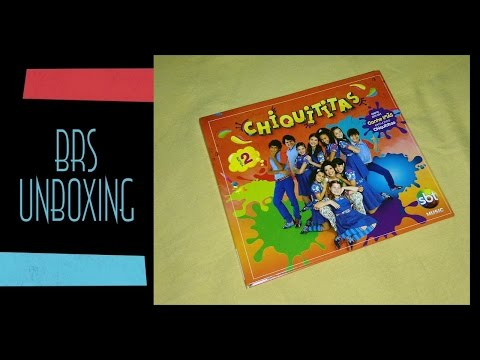 Chiquititas 2013 - CD Volume 2 (Unboxing) Travel Video