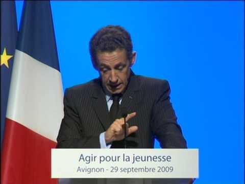 Nicolas Sarkozy Annonce L Extension Du Rsa Aux Moins De 25 Ans Youtube