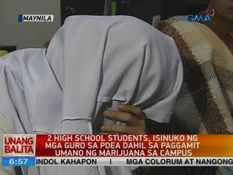 UB: 2 high school students, isinuko ng mga guro sa PDEA dahi