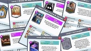 NEW CARDS? THE MORE APELONAS CREATED BY ENTERED IN THE CONTEST OF CLASH ROYALE