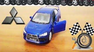 Мультик Про Машинки - Митсубиси - Учим марки машин | Cars Cartoon - Mitsubishi Lancer Evolution