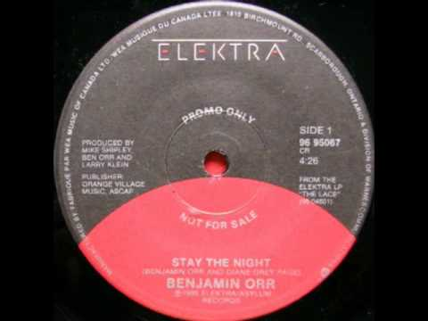 Benjamin Orr - Stay The Night (Ultrasound Extended Mix)