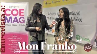 Mon Franko en entrevista para Play Pop 🎧