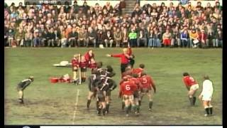 1977 Rugby Union Match: New Zealand All Blacks vs British and Irish Lions (2nd Test)